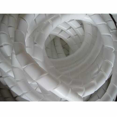 Organizador de cabos e fios elétricos 24mm espiral branco em metro - Cód: 4573 - Marca: elesys
