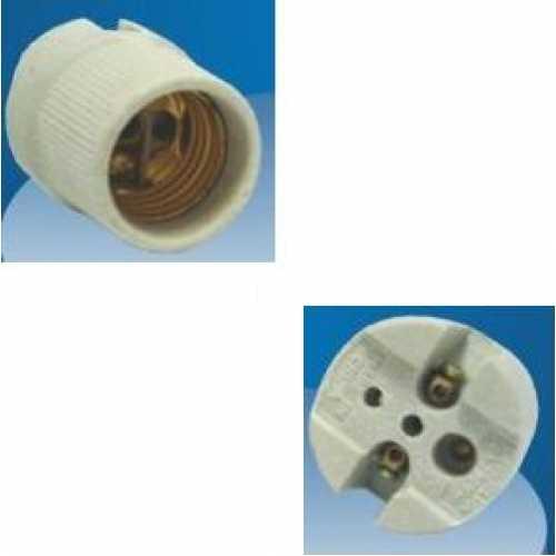 Receptáculo E27 em porcelana ref: MT2213 - Cód: 3442 - Marca: Decorlux
