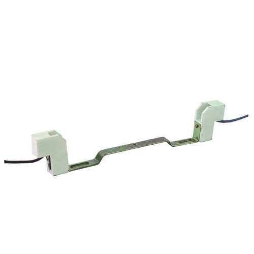 Soquete com rabicho e base para lâmpada halógena 78mm de 100w, 150w ou 200w - Cód: 2994 - Marca: Decorlux