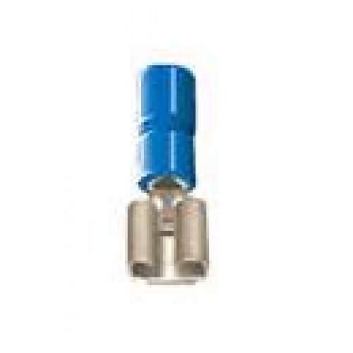 Terminal pré-isolado fêmea para fios e cabos de 1,5mm a 2,5mm - Cód: 2888 - Marca: Decorlux