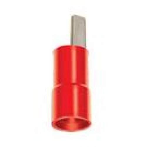 Terminal pré-isolado tipo pino para fios e cabos de 10,0mm - Cód: 4750 - Marca: Decorlux