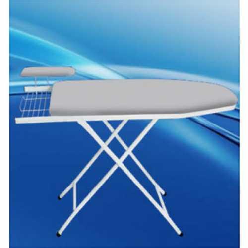 mesa de passar roupa em aço e madeira - Cód: 4650 - Marca: Nacional